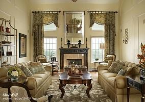 经典美式豪宅别墅图片