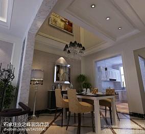 2018新古典别墅餐厅装修效果图片