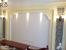 精美100平米三居客厅田园装修设计效果图片欣赏