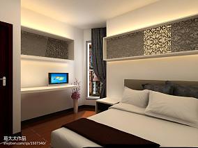 小户型卧室混搭装修设计效果图片欣赏