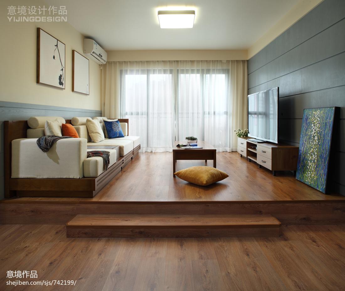 现代简约客厅装修效果图大全2017图片客厅
