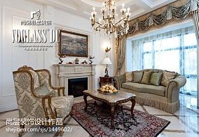 精美别墅客厅田园欣赏图片
