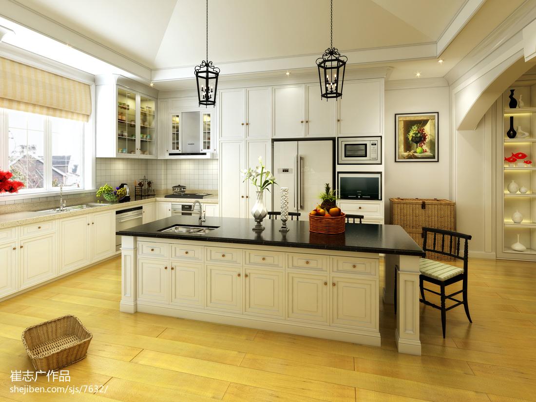 整体厨房装修效果图片