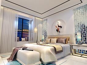 2018小户型卧室中式装修实景图
