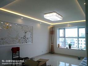 2018精选80平米二居客厅欧式装饰图