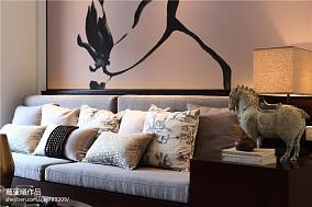 热门中式小户型客厅实景图片大全
