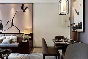 中式风格小户型餐厅装修效果图大全2017图片