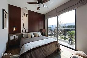 小户型中式卧室窗户装修效果图大全2017图片
