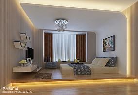 现代简约风格卧室榻榻米装修效果图大全