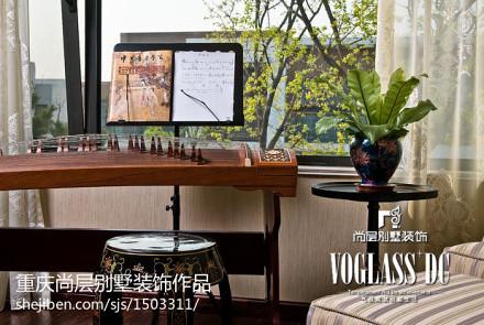 精美115平米新古典别墅休闲区装饰图片