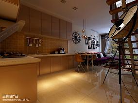 精美现代小户型厨房设计效果图