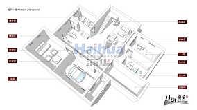 热门142平米现代别墅客厅设计效果图