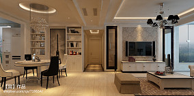 热门四居客厅新古典装修欣赏图片大全