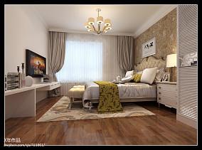 欧式小三居温馨宜人的客厅装修效果图
