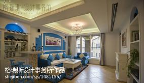 精美复式客厅地中海装修设计效果图片欣赏