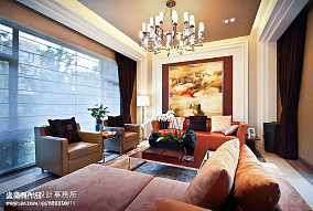 精美新古典客厅装饰图片欣赏