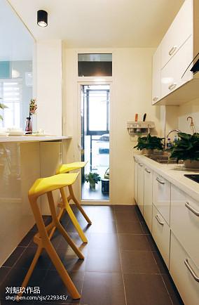 精美面积76平小户型厨房现代装修设计效果图片欣赏