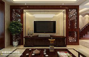 热门面积143平复式客厅中式欣赏图片大全
