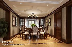 热门125平米美式别墅餐厅装修图片欣赏