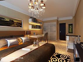 现代复式楼卧室装修设计效果图