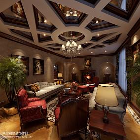 欧式风格室内楼房装修图片