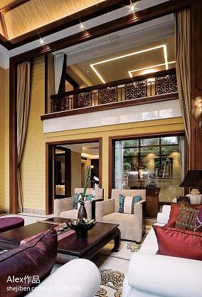 热门东南亚客厅装修图