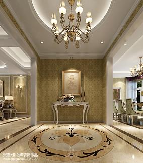 东南亚古典风格别墅浴室卫生间效果图