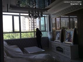 玻璃装饰不锈钢楼梯栏杆图片