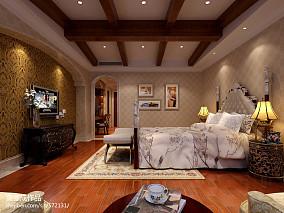 精美136平方欧式别墅卧室装修效果图片大全卧室欧式豪华设计图片赏析