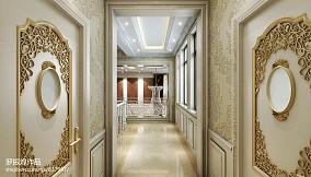 热门面积127平别墅过道欧式装修设计效果图片欣赏