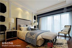 2018118平米欧式别墅卧室实景图片