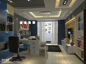 美式设计精装修室内图片
