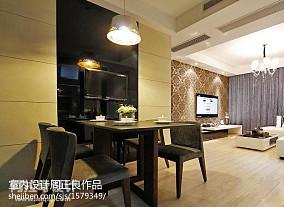 客厅60平米旧房改造