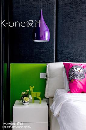 典雅22平现代小户型卧室装修美图