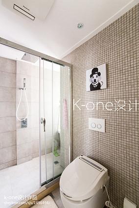 精美小户型卫生间现代效果图片大全