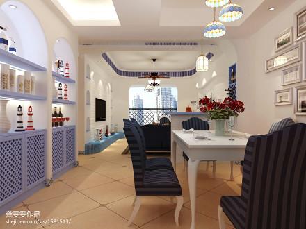 热门三居客厅地中海效果图片