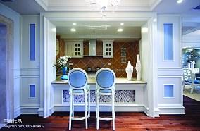 精选面积140平别墅餐厅新古典装修实景图