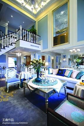 小别墅客厅挑空设计