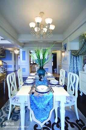 2018新古典别墅餐厅效果图片欣赏