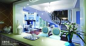 精美123平米新古典别墅厨房欣赏图片