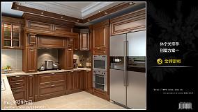 欧式厨房组合橱柜图片