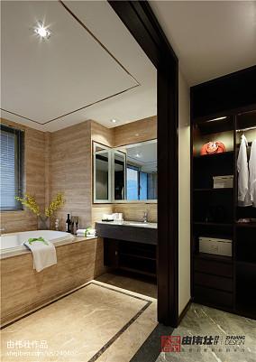 精美面积111平别墅卫生间中式效果图片