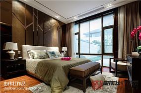 2018精选134平米中式别墅卧室装修效果图