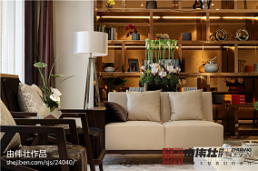 热门别墅客厅中式装修图片欣赏