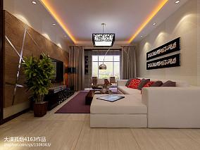 装饰色彩红色客厅