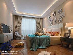 高端美式设计三室两厅