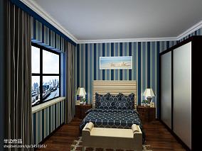 热门84平米二居卧室地中海设计效果图