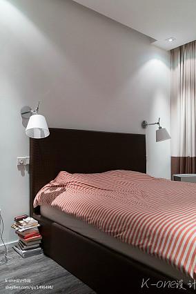 典雅57平现代复式卧室设计图