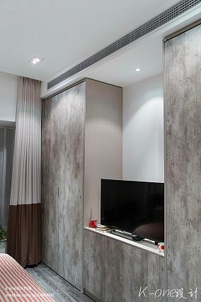 优雅83平现代复式卧室装修装饰图