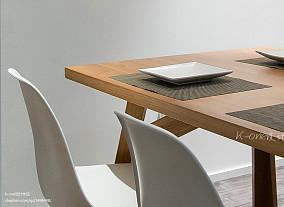 优雅150平现代复式餐厅装修美图